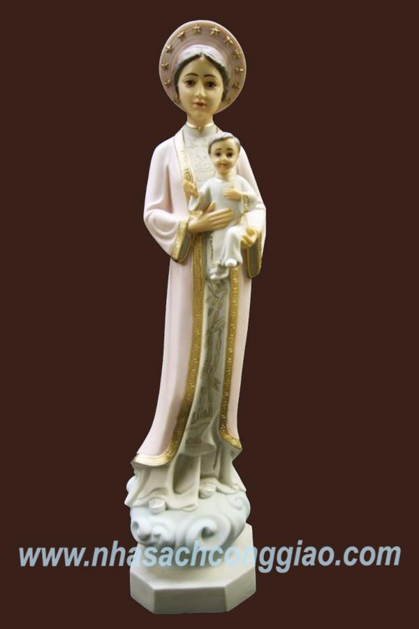 Tượng Đức Mẹ Lavang 65cm