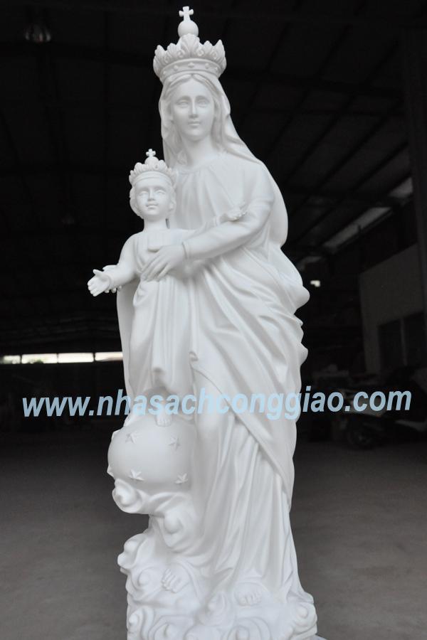 Tượng Đức Mẹ Lavang cổ 80cm